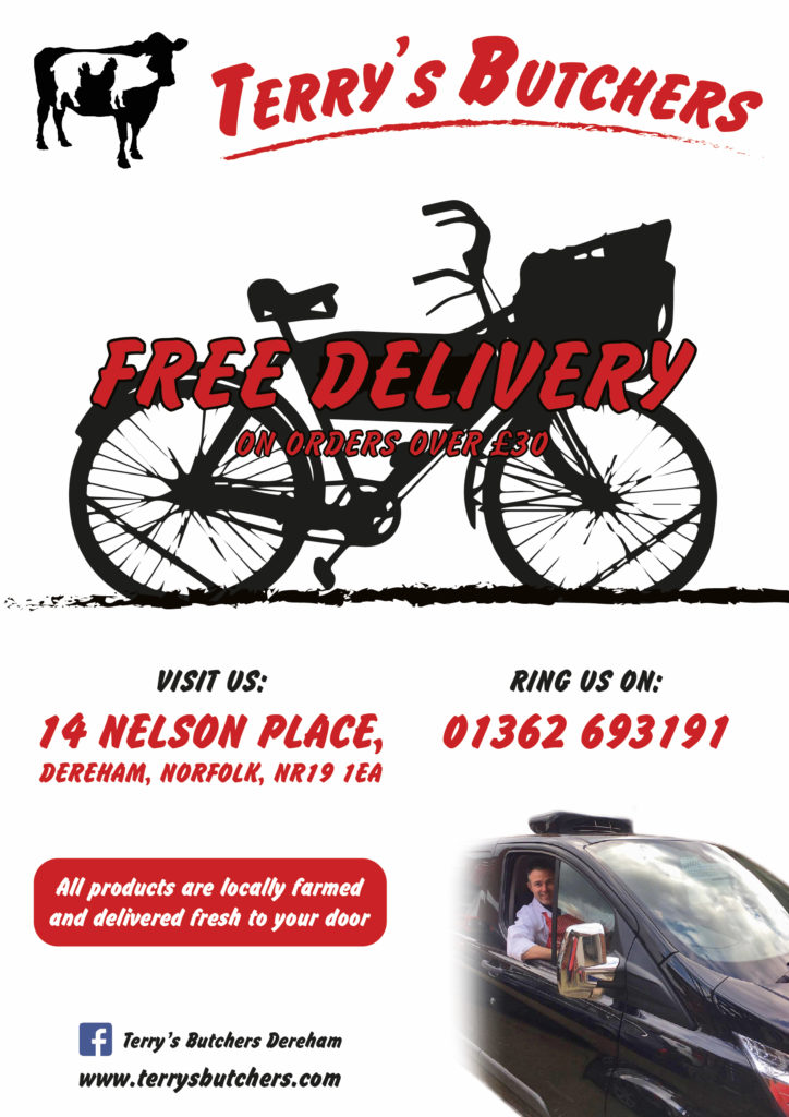 Free Delivery Terry's Butchers